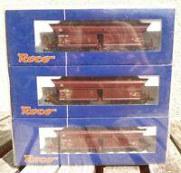 Roco 66003 3er Set Selbstentladewagen Faals Peine& Salzgitter DB Epoche 4 AC 3-L