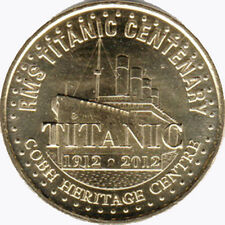 IRLANDE IRISH TITANIC 1912 - 2012 MÉDAILLE MONNAIE DE PARIS JETON MEDALS COINS