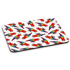 Loro Diseño Animal Aves Rojo Pc Ordenador Alfombrilla de Ratón Pad
