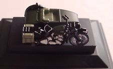 Oxford Military 1/76 BSA Motorcycle Sidecar 34th Armoured Brigade 1945 76BSA005