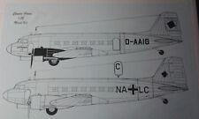 1:72  DC-3 Luftwaffe & Lufthansa Classic Plane Sehr selten!