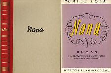 Emile zola, Nana, totalement assurée. nouvelle traduction Dr. H. noir, west-vlg Bregenz 1947