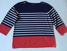 PRE-OWNED WOMENS SPENSE KNIT SWEATER SIZE XL