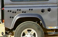 28 BLACK PAW PRINT STICKERS Car Wall Stickers Decals Graphics Cat Dog