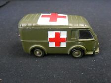 DINKY TOYS - 80F - AMBULANCE MILITAIRE SANS BOÎTE - MECCANO MADE IN FRANCE