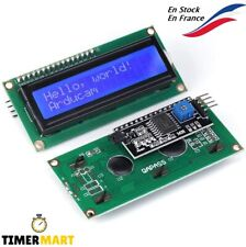 Module LCD Bleu 16x2 HD44780 1602 +interface I2C PCF8574T Pour Arduino TimerMart