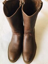 Vintage Red Wing Nailseat #1155 Vertical Tag Leather Boots Mens 11B USA