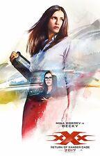 xXx Return of Xander Cage Movie Poster (24x36) - Vin Diesel, Nina Dobrev v3