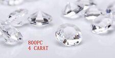 Wedding Diamond Vase Crystal Acrylic Flower Ice Rock Gem Filler Shower Jewelry