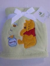 Baby Winnie The Pooh Plush Baby Blanket by Disney Baby