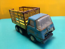 Old Vtg Collectible Pressed Steel Tonka Farm Livestock Dump Stake Truck Toy
