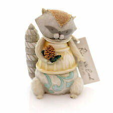 Jim Shore Raccoon Figurine Polyresin River's End Christmas 4048062
