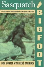Sasquatch Bigfoot [ Near Mint ] Search N Americas Incredible Creature Don Hunter