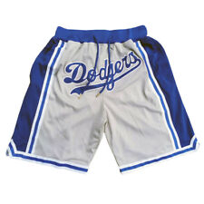 Los Angeles Dodgers Baseball Shorts with 4 Pockets