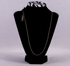 14K Gold Necklace Made in Italy by Golden Cleff. 18 inch.