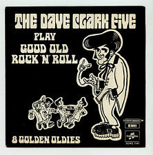 """The DAVE CLARK FIVE : Play Good Old Rock 'n' Roll (medley) - 7"""" ITALY 1969"""