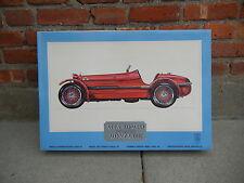 POCHER 1:8 1931 ALFA ROMERO 8C 2300 MONZA MODEL CAR AUTO NEW IN SEALED BOX