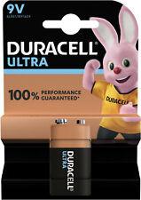 10x Duracell 9V E-Block 6LR61 Ultra Power 1 er Blister Alkaline Transistor