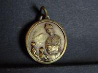 medaille religieuse Notre Dame de la Salette bronze 2.4 cm   MR 927