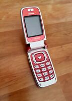 Nokia 6103 in rot  Klapphandy / Foldphone
