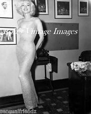 Marilyn Monroe Sexy Voluptuous Movie Star Dress she wore for JFK' Birthday Party
