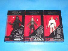 Star Wars Black Series Lot of 3 (Disney 2015) Skywalker Jyn Erso & Kylo Ren MIB