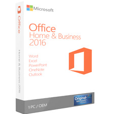 Microsoft Office 2016 Home and Business 1 PC OEM ESD - BLITZVERSAND