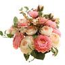 Artificial Fake Flowers Plants Silk Rose Flower Arrangements Wedding Decorations