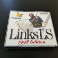 Links LS 1999 PC CD-ROM 4disc Set Access Software Golf game Windows 95 98 NT