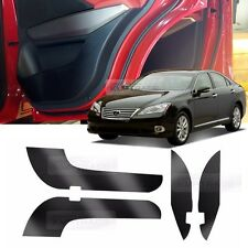 Carbon Door Decal Sticker Cover Kick Protector for LEXUS 2010 2011 2012 ES350
