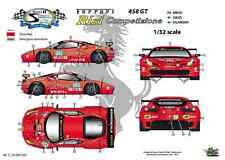 "[FFSMC Productions] Decals 1/32 Ferrari F-458GT ""Risi"" 12 Hours of Sebring 2011"