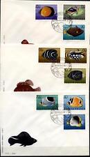 Exotische Fische. 3 FDC. Polen 1967