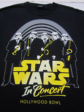 STAR WARS in concert 2007 Hollywood Bowl LARGE T-SHIRT