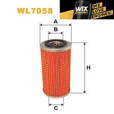 1x Wix Oil Filter WL7058 - Eqv to Fram CH815PL1