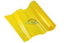 Yellow Glossy 30x100cm Car Headlight Headlamp Fog Rear Tail Wrap Tint Vinyl Film
