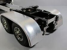 Pair Aluminum Fender & Frame Mount Combo Tamiya 1/14 King Grand Knight Hauler