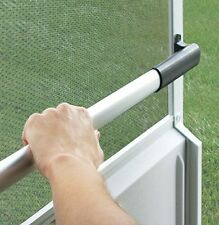 Camco RV / Trailer / Camper / Mobile Home Screen Door Cross Bar for Easier Exit