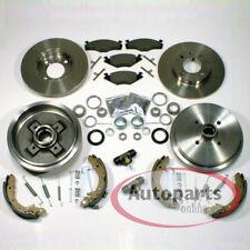VW Golf 3 III Bremsscheiben Bremsen vorne Bremstrommel Set Zubehör für hinten*