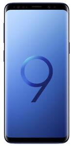 New in Box Samsung Galaxy S9 SM-G960 - 64GB - Coral Blue (Unlocked)