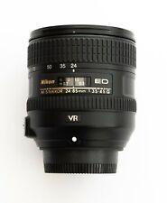 Nikon Nikkor 24-85mm f/3.5-4.5G AF-S FX VR lens