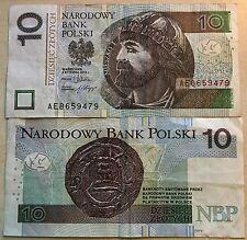 POLONIA 10 ZLOTYCH 2012 MIESZKO I NARODOWY BANK POLSKI RARA DA COLLEZIONE