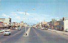 Postcard Main Street Looking East in Mesa, Arizona~128531