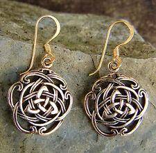 zauberhafte Bronze Ohrhänger Ohrringe  Mittelalter ARWEN Kelten Taliesin keltik