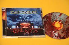 2CD (NO LP ) IRON MAIDEN ROCK IN RIO ORIG CON LIBRETTO