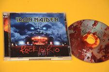 2CD (NO LP ) IRON MAIDEN ROCK IN RIO ORIG CON LIBRETTO