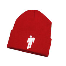 Billie Eilish Beanies Casual Warm Embroidery Knitted Winter Hat Hop Skullies Cap