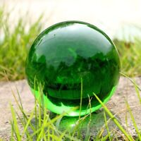 Asian Rare Natural Green Quartz Magic Crystal Healing Reiki Ball Sphere 40MM