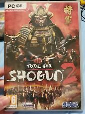 VRARE-Total War: Shogun 2 CIB Complete Computer (PC, 2011) w/ Key- Sega