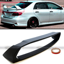 Fit 09-13 Toyota Corolla Jdm Abs Unpainted Mugen Style 4Pic Trunk Wing Spoiler (Fits: Toyota)
