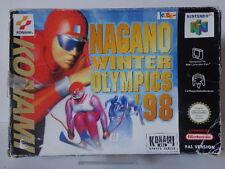 N64 Spiel - Nagano Winter Olympics ´98 (mit OVP) 10634981